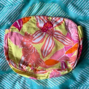 Reversible Lilly Tropical Bird Bermuda Purse Cover